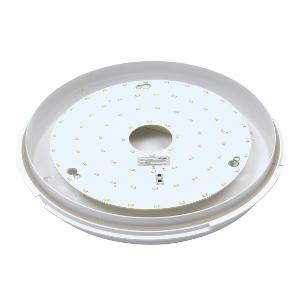 Knightsbridge 230V 20W Trade LED Flush Lamp 4000K