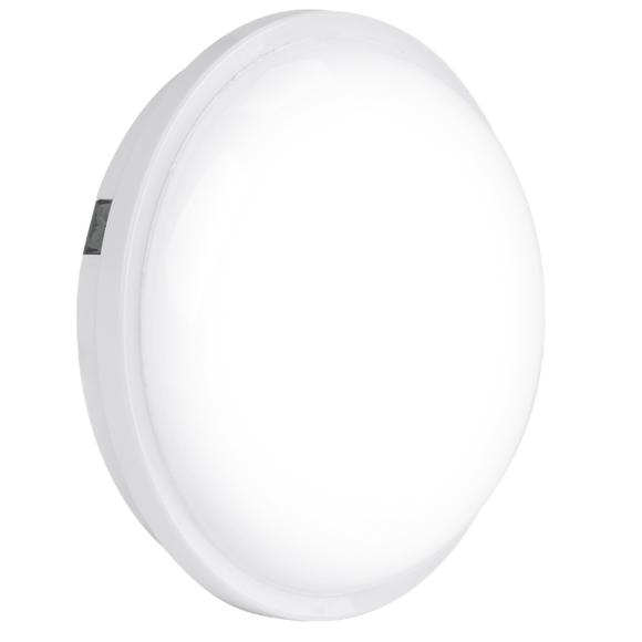 Aurora Enlite EN-BH120/40 White Fixed Round LED Bulkhead Light 20W 220-240V AC 4000K IP65