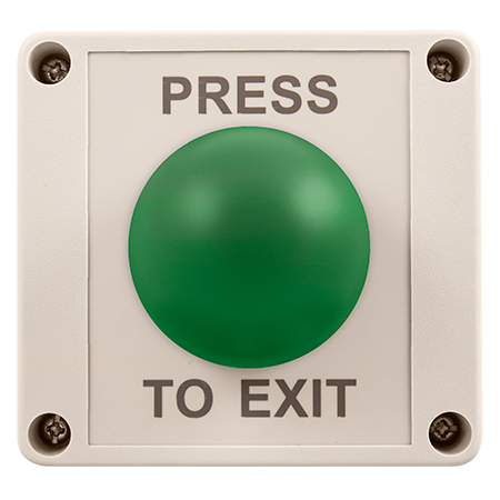 ESP Push to Exit Mushroom Release Button IP55 EVEXITMIP55