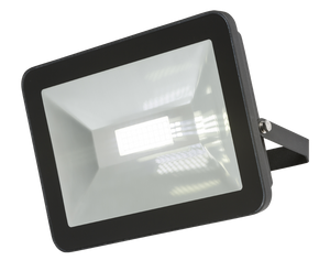 Knightsbridge 230V IP65 80W LED Black Die-Cast Aluminium Floodlight 4000K