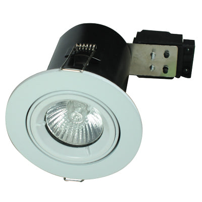 Greenbrook Leo Range - Fire Rated Downlight , 50W max, Tilt
