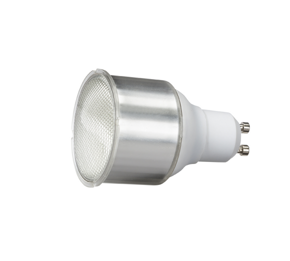 Knightsbridge 230V 11W GU10 Compact Fluorescent Lamp Warm White 2700K