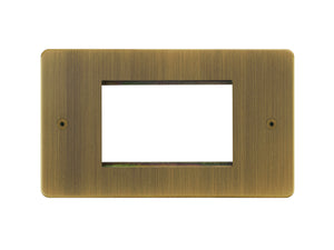 Focus SB Horizon 3 Module Euro Plate Antique Brass