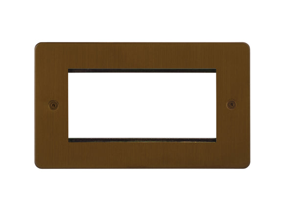 Focus SB Horizon 4 Module Euro Plate Bronze Antique