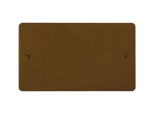 Focus SB Horizon Double Blanking Plate Bronze Antique