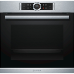 Bosch Serie 8  60cm Built-in/under Single Multifunction Oven  HBG634BS1B