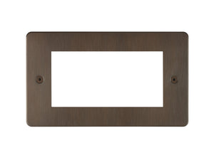 Focus SB Horizon 4 Module Euro Plate Chocolate Bronze