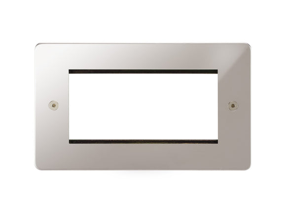 Focus SB Horizon 4 Module Euro Plate Polished Steel