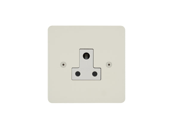 Focus SB Horizon Unswitched 1 Gang Socket Colour Coated White Insert
