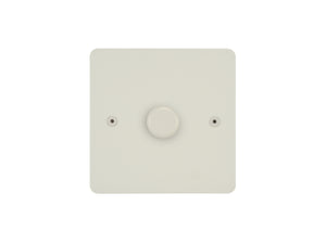 Focus SB Horizon 1 Gang 2 Way Push On/Off Dimmer Switch Colour Coded