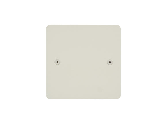 Focus SB Horizon Single Blanking Plate Primed White