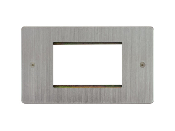 Focus SB Horizon 3 Module Euro Plate Satin Chrome