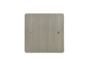 Focus SB Horizon Single Blanking Plate Satin Nickel
