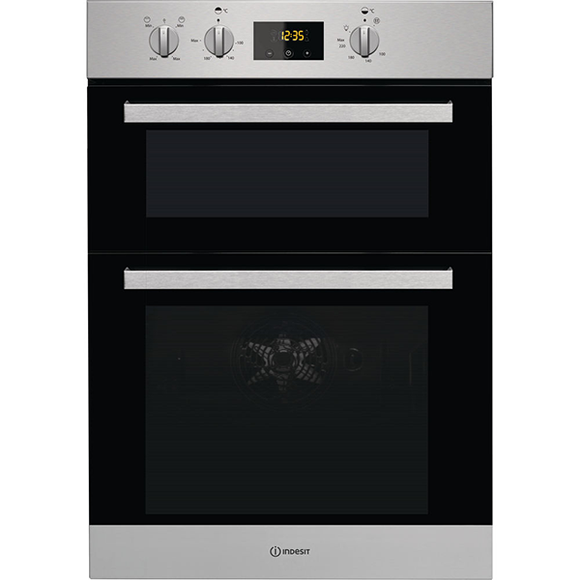 Indesit Built In Double Oven  IDD6340IX