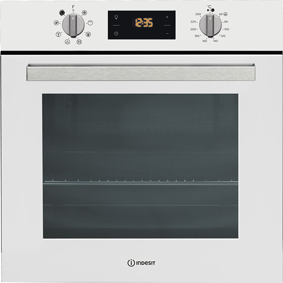Indesit Built In/Under Single Multifunction Oven  IFW6340WH