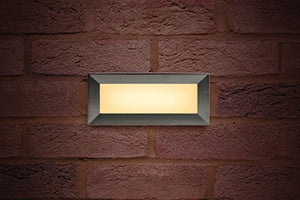 Integral LED Outdoor Recessed Brick Light 3.8W 3000K 180lm IP65