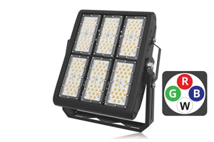 Integral LED Precision Pro RGBW Floodlight 300W IP67 85x135 deg Beam Angle