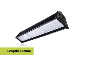 Integral LED Compact Tough Linear High Bay IP65 19500LM 150W 4000K 120 deg Beam Angle Dimmable