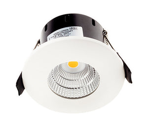 Greenbrook Vela Compact IP65 Dimmable LED Fire Rated Downlight - 7W Fixed