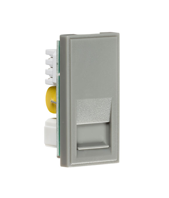 Knightsbridge Telephone Master Outlet Module 25 x 50mm (IDC) - Grey