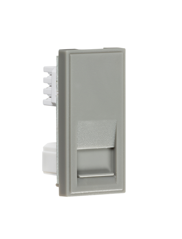 Knightsbridge Telephone Secondary Outlet Module 25 x 50mm (IDC) - Grey