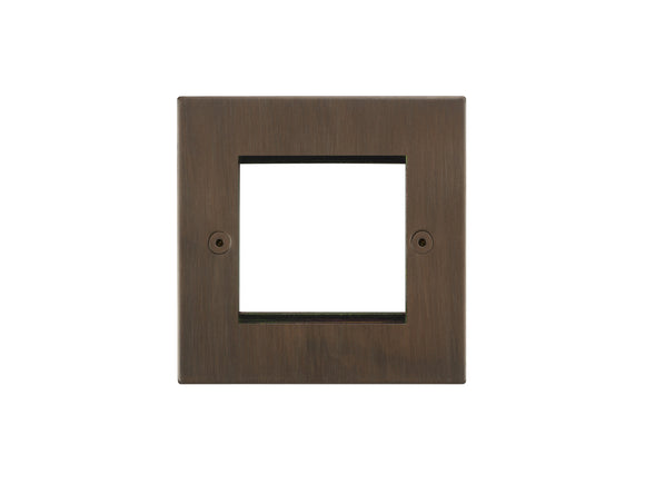 Focus SB Horizon 2 Module Euro Plate Chocolate Bronze