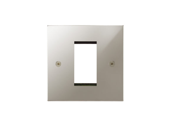 Focus SB Horizon 1 Module Euro Plate Polished Nickel