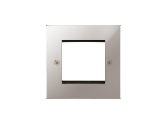 Focus SB Horizon 2 Module Euro Plate Polished Steel