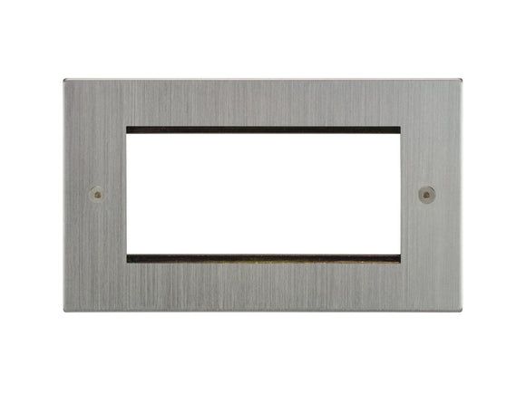 Focus SB Horizon 4 Module Euro Plate Satin Chrome