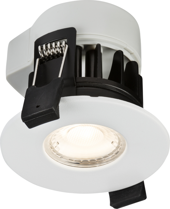 Knightsbridge 230V IP65 5W Fire-rated LED Dimmable Downlight 3000K