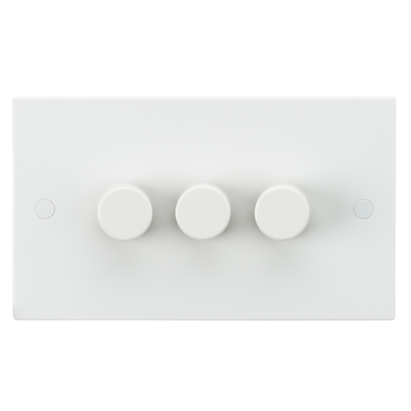 Knightsbridge 3G 40-400W Dimmer Switch