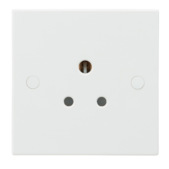 Knightsbridge 5A Unswitched Round Pin Socket