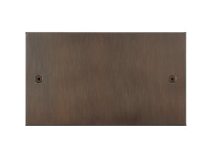 Focus SB True Edge Double Blanking Plate Chocolate Bronze