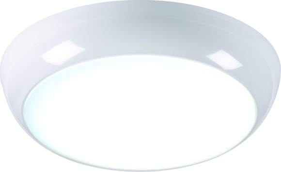 Knightsbridge 14W 6000K LED BULKHEAD FITTING 3HR EMERGENCY