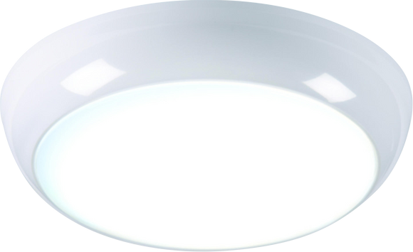 Knightsbridge 14W 6000K LED BULKHEAD FITTING 3HR EMERGENCY c/w SENSOR