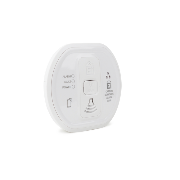 Aico Ltd Ei208W Battery CO Alarm RadioLINK+ Upgradeable