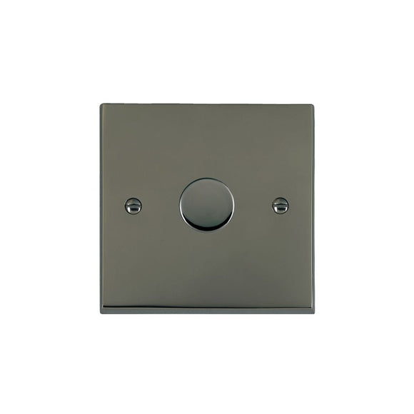 Cheriton Victorian Black Nickel 1g 200VA 2 way Dimmer BK