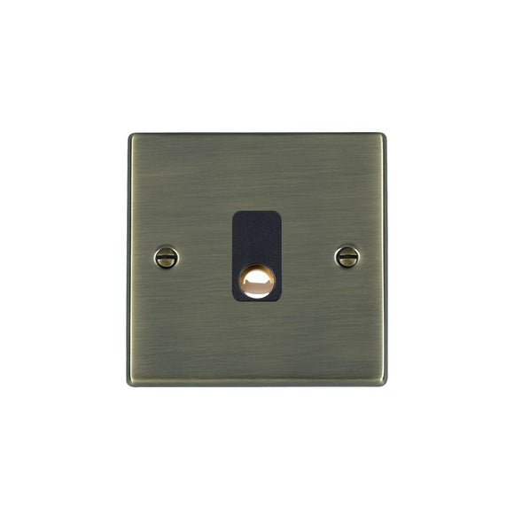 Hartland Antique Brass 20A Cable Outlet BL