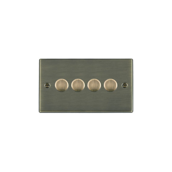 Hartland Antique Brass 4g 100W LED Dimmer AB