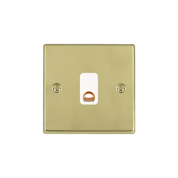 Hartland Polished Brass 20A Cable Outlet WH