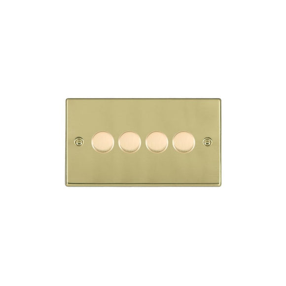 Hartland Polished Brass 4g 400W 2 way Dimmer PB