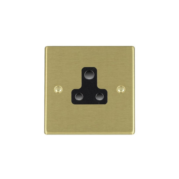 Hartland Satin Brass 5A Lighting Socket