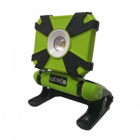 Luceco Portable LED Clamp Work Light 9W 900lm IP54