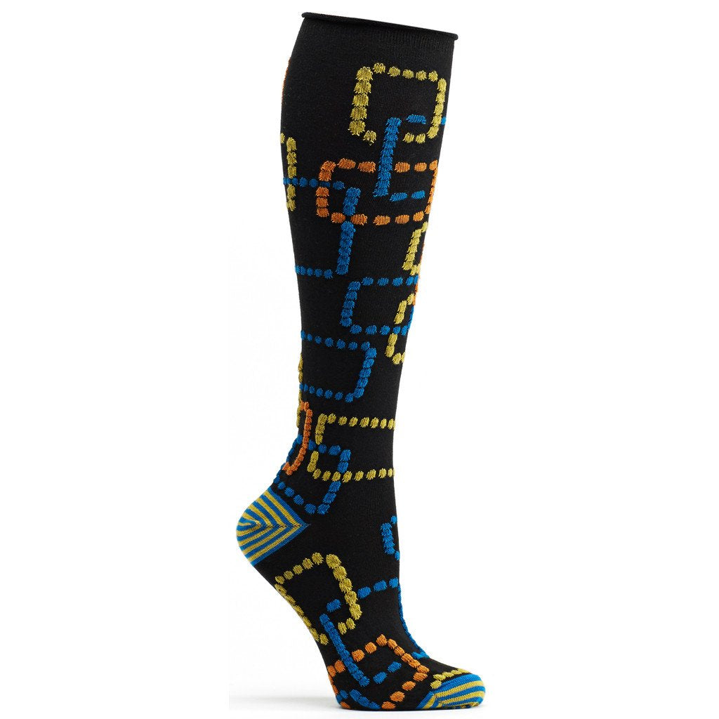 Retro Gaming Knee High Sock