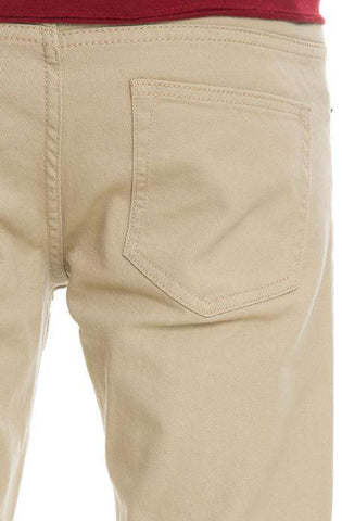 Image of VB Basic Skinny Jeans (Khaki)