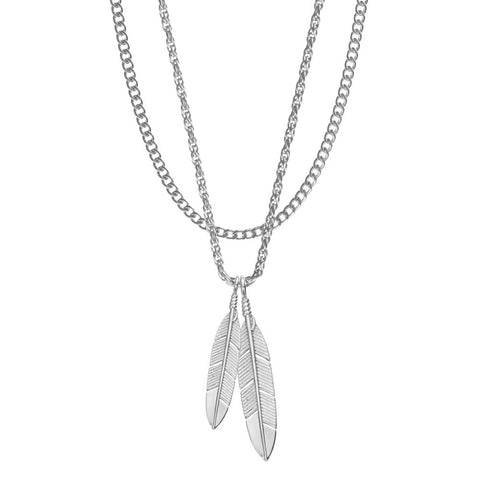 Image of Mister Feather Necklace