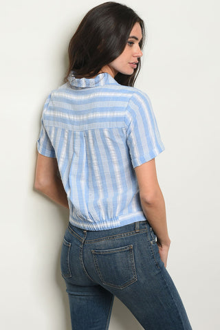 Womens Stripes Top