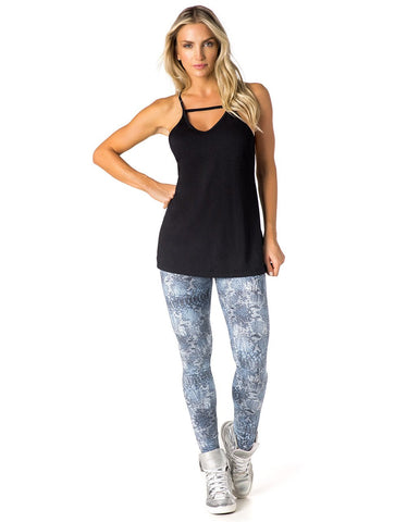 Image of TANK TOP 321 BLACK