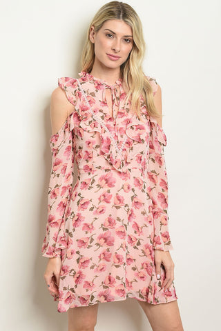 Image of Womens Floral Print Dress