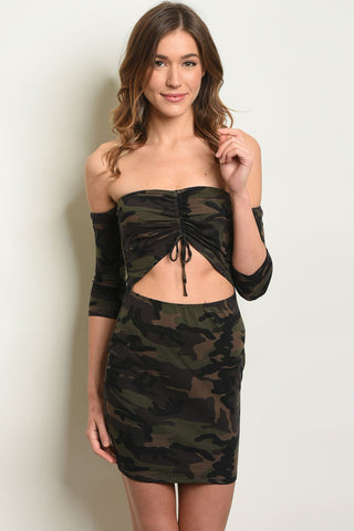 Image of Camouflage Dress